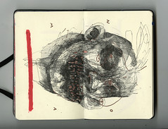 volver (PabloQuerea) Tags: drawing painting paint dailypainting figurativepaint mexico art artbrut artnow