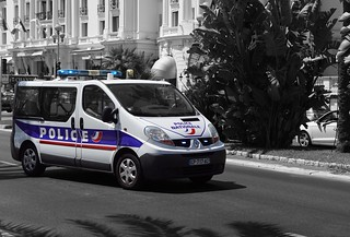 Police Nationale PACA Renault Traffic