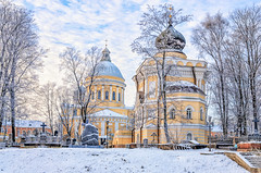 Russia. Saint Petersburg. Alexander Nevsky lavra at a frosty winter day. Holy Trinity Cathedral and St.Nicholas church and the cemetery. (g_reg_walker) Tags: russia orthodoxy cold tree cross cathedral cemetery cloud travel excursion culture history nicholas russian st saint frosty memory dome ice alexander church lantern nevsky trinity architecture winter graves holy sight frost tourism religion snow monument christianity lavra petersburg cementerio friedhof cimetière cimiteri cemitério cemeteries cementerios friedhoefe cimetières cimiteris cemitérios