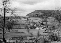 Landscape view (Maintained by Matthew Bigwood) Tags: briancandy wottonunderedge monochrome 35mm film snow 1963 gloucestershire briancandyphotographicarchive