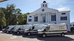 North Carolina ambulances (CasketCoach) Tags: ambulance ambulancia ambulanz ambulans rettungswagen krankenwagen paramedic ems emt emergencymedicalservice firefighter fordtransit