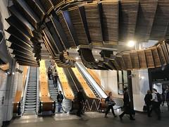All up in the air ... (highplains68) Tags: escalators wynyard sydneytrains nsw newsouthwales aus australia interloop city railway