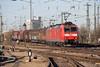 DB 185 127 + 185 094 Basel Bad (daveymills31294) Tags: db 185 127 094 basel bad baureihe cargo traxx deutsche bahn