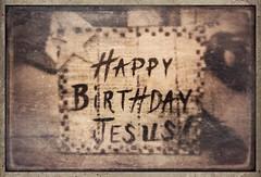Happy Birthday Jesus. Original photo taken last weekend at the No Room at the Inn Nativity display at Padre Serra Parish in Camarillo, CA. #tintype #photocopier #rippix  #snapseed #stackables #formulas #christmas #xmas #camarillo (harrysonpics) Tags: christmas xmas camarillo tintype photocopier rippix snapseed stackables formulas