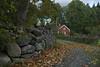 Östantorp #1-2 (George The Photographer) Tags: småland sweden bråbo höst autumn gärdesgård gärsgård gräs lövträd lönn hage torp stenmur faluröd outdoor se