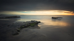 Moment of Clarity (David Colombo Photography) Tags: ocean seascape sunset pacific sandiego california longexposure beach clouds sky water davidcolombo davidcolombophotography d800 nikon outdoor moody dark