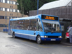 Nottingham Community 993 QMC (Guy Arab UF) Tags: nottingham community transport 993 yj12gvg electric powered optare solo ev m950 bus qmc queens medical centre medilink buses trent barton 999
