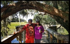 10/24/17 - Segway Tour in Hilton Head Island, SC (Chillycub) Tags: october 2017 vacation trip hdr hiltonheadisland southcarolina plantation tour segway tours trees liveoaks friend amy selfportrait me dave chillycub gay bear cub
