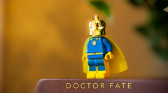 It's a free market, Charlie Brown. (Jonathan Wong Photography) Tags: dccomics doctorfate drfate kentnelson lordsoforder customminifiguresareusuallyoverpriced knockoffsaremorallygrey