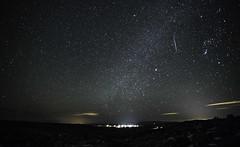 Meteor (Kim Tashjian) Tags: meteor night sky stars wilsall montana winter
