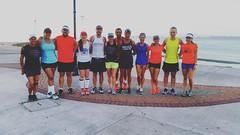 ¡Este sábado hicimos el fondo en Puntarenas! #soycorrecaminos #longrun #marathontraining #puntarenas #costarica #running #beach