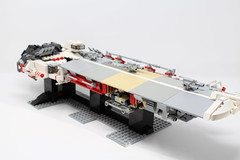 "Jumper-class Cruiser ""Deckard"" (rumrums) Tags: space ship spaceship cruiser lego microspace moc"