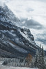 Incredible Icefields (hermez) Tags: cahi2017 mountains rockymountains canadianrockies banffnationalpark jaspernationalpark icefieldsparkway firstsnow autumn road cold harsh windy cloudy epic