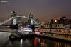 Tower Bridge at night, London UK (Nigel Blake, 15 MILLION views! Many thanks!) Tags: spanning thames low tide towerbridge tower bridge london uk england capital city cityscape nigelblakephotography nigelblake
