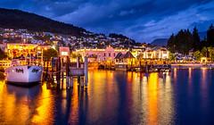 Queenstown NZ (Rob-Shanghai) Tags: newzealand queenstown night waterfront lake leica m240