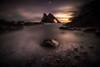 Muted Mood (Augmented Reality Images (Getty Contributor)) Tags: portknockie bowfiddlerock coastline sunrise leefilters landscape scotland water waves longexposure morayfirth canon seascape clouds rocks unitedkingdom gb
