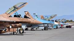 'TOPGUN' F-16 Flightline (MarkYoud) Tags: nas fallon nevada nawdc topgun us navy f16 falcon adversary coloured camo military fast jet
