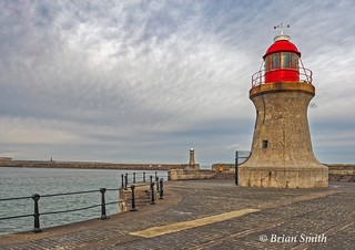 Light At The End Of The Pier, South Shields, Tyne and Wear