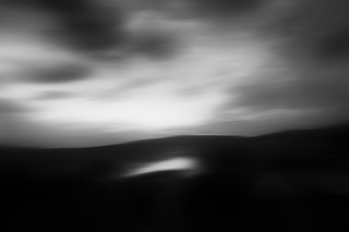 abstract landscape - cloud on earth