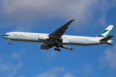 B-KQV   Boeing 777-367ER   Cathay Pacific (cv880m) Tags: newyork kennedy jfk kjfk aviation airline airliner jetliner aircraft airplane bkqv boeing 777 773 777300 777367 spa cathaypacific swire asia hongkong china brushwing triple7 tripleseven