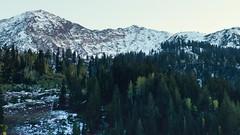 Utah Snowbird (Jovan Jimenez) Tags: utah snowbird mountains optical flare vintage lens canon 70d eos video motion timelapes landscape nature nikon series e seriese eseries 50mm f18 pancake landcape trees sun widescreen 16x9