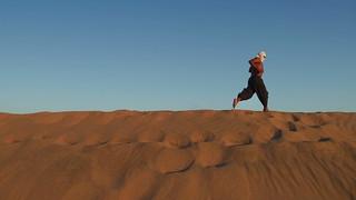 Desert and Run like the Wind
