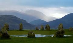 . (farrertracy) Tags: lakedistrict castleriggstonecircle moodyskies keswick blueskies