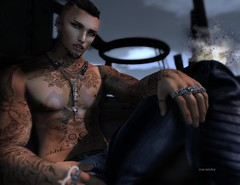 Richie (Roy Mildor - I am how I am !) Tags: roymildor sl secondlife cool rude profile body photography client guy man men skin tattoo custom