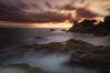 Naturalis chorus (Blai Figueras) Tags: silkeffect sky panorama agua seascape sunset water horizon landscape atardecer atmosphere coast seaside longexposure stones lloretdemar le rocas sea beach paisaje costabrava flickr playa paraiso naturaleza eden nature costa cielo clouds crepúsculo rocks mar