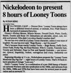 Looney Toons / Looney Tunes (The Mandela Effect Database) Tags: mandela effect mandala affect looneytoons looneytunes toons tunes warner bugs bunny residual research evidence proof