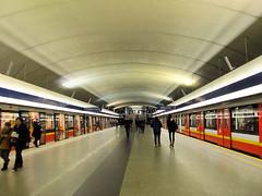 Metro Warszawskie (transport131) Tags: metro warszawskie mw stacja station infrastruktura infrastructure kabaty