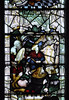 Church Eaton, Staffordshire, St. Editha, north aisle window, annunciation to the shepherds (groenling) Tags: churcheaton staffordshire staffs england britain greatbritain gb uk steditha window glass stainedglass northaisle kempe shepherd angel annunciation sheep bagpipe shawm mmiia