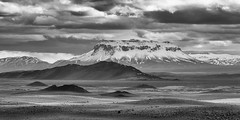 Layers of Iceland (dshoning) Tags: iceland june bw snow clouds layers