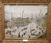 Huddersfield West Yorkshire 21st October 2017 (loose_grip_99) Tags: huddersfield west yorkshire museum lowry painting art october 2017 industry city cityscape