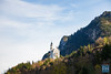 Schloss Neuschwanstein (felix.hohlwegler) Tags: bayern germany deutschland aroundtheworld outdoor photography landscape castle water see lake clouds himmel wolken sky canon canoneos canoneos7d landscapephotography schloss berg hill schlossneuschwanstein neuschwanstein travel travelling outdoorphotography