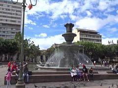video Parque Central o Plaza de la Constitucion ciudad de Guatemala (Rafael Gomez - http://micamara.es) Tags: ciudad de guatemala parque central video fuente en o plaza la constitucion