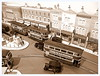 View from the church tower (kingsway john) Tags: london transport scale model layout tram e1 feltham oo gauge 176 kingsway card building kits