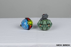 Watch Me Explode (Nick Brick) Tags: lego halo reach frag grenade plasma life size 11 nickbrick