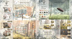 8f8 - Once Broken and Forgotten - FULL SET (iBi 8f8) Tags: sl second life virtual 8f8 ibi creations once broken forgotten collection fullset november 2017 builds nature