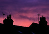 Silhouette (zeity121) Tags: sunset chimney chimneys houses terracedhouses silhoutte redsky redskyatnight roofline