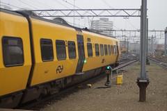 Bijna het einde van het tijdperk diesel bij de NS (krijnders) Tags: 3447 buffel dm90 nederlandsespoorwegen ns nsr zwolle