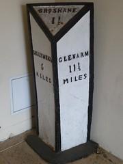 Broughshane mile marker, Co Antrim. (lorraineelizabeth59) Tags: broughshane countyantrim milemarker broshane oldspelling rusticballymena ballymena