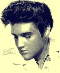 Elvis Presley (Bob Smerecki) Tags: smackman snapnpiks robert bob smerecki sports art digital artwork paintings illustrations graphics oils pastels pencil sketchings drawings virtual painter 6 watercolors smart photo editor colorization akvis sketch drawing concept designs gmx photopainter 28 draw hollywood walk fame high contrast images movie stars signatures autographs portraits people celebrities vintage today metamorphasis 002 abstract melting canvas baseball cards picture collage jixipix fauvism infrared photography colors negative color palette seeds university michigan football ncaa mosaic