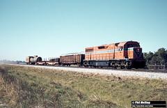 2824 L253 Midland shunt South Guildford 9 February 1982 (RailWA) Tags: railwa philmelling westrail 1982 l253 midland shunt south guildford