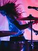 Pearl Earl (BurlapZack) Tags: olympusomdem5markii olympusmzuikoed75mmf18 vscofilm pack07 dallastx oakclifftx texastheatre pearlearl behindthescreen drummer drums hair wild livemusic localmusic venue bar psychrock movement action motionblur red blue backstage musician cymbal crash