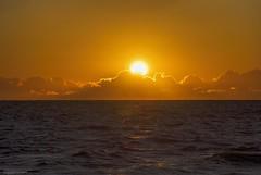Some clouds and sun.... (Joe Hengel) Tags: lowerslowerdelaware lsd lewes lewesde sun sunlight sunrise clouds morning morninglight goodmorning sea seaside seashore outdoor ocean atlanticocean waves water watchingthesunrise horizon somecloudsandsun