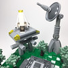 Micro Endor shuttle (elemental_lego) Tags: lego starwars endor forest tree scene micro tiny modular photo space scifi art photography nature spaceship