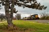 Rivals Lead the Way (Wheelnrail) Tags: csx ns iory io train trains locomotive emd sd402 sd rails ohio norfolk southern dayton district fairborn 305 pine tree
