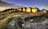 Mudeford Huts at Dawn (Nick L) Tags: mudeford beachhut beach dawn dawnlight dorset landscape wood dunes boats mudefordbeachhuts outdoor building hengistburyhead hengistbury uk