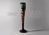Le Verre Français. France. Art Deco. Circa 1930. (Maison Samuel) Tags: le verre français glass cameo vase papyrus art deco 1930 30s artdeco